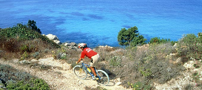 Mountainbike all'Elba