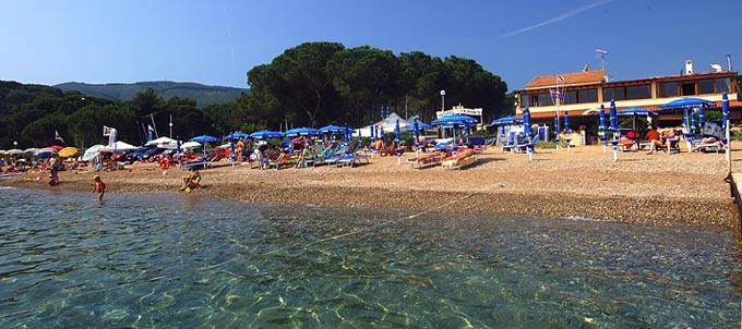 Naregno Strand - Hotel Frank\'s - Insel Elba, Capoliveri